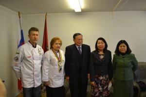 Thailand Culinary Contest 2015.