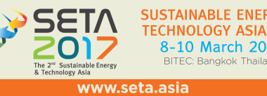 Sustainable Energy & Technology Asia (SETA 2017), Bangkok, Thailand