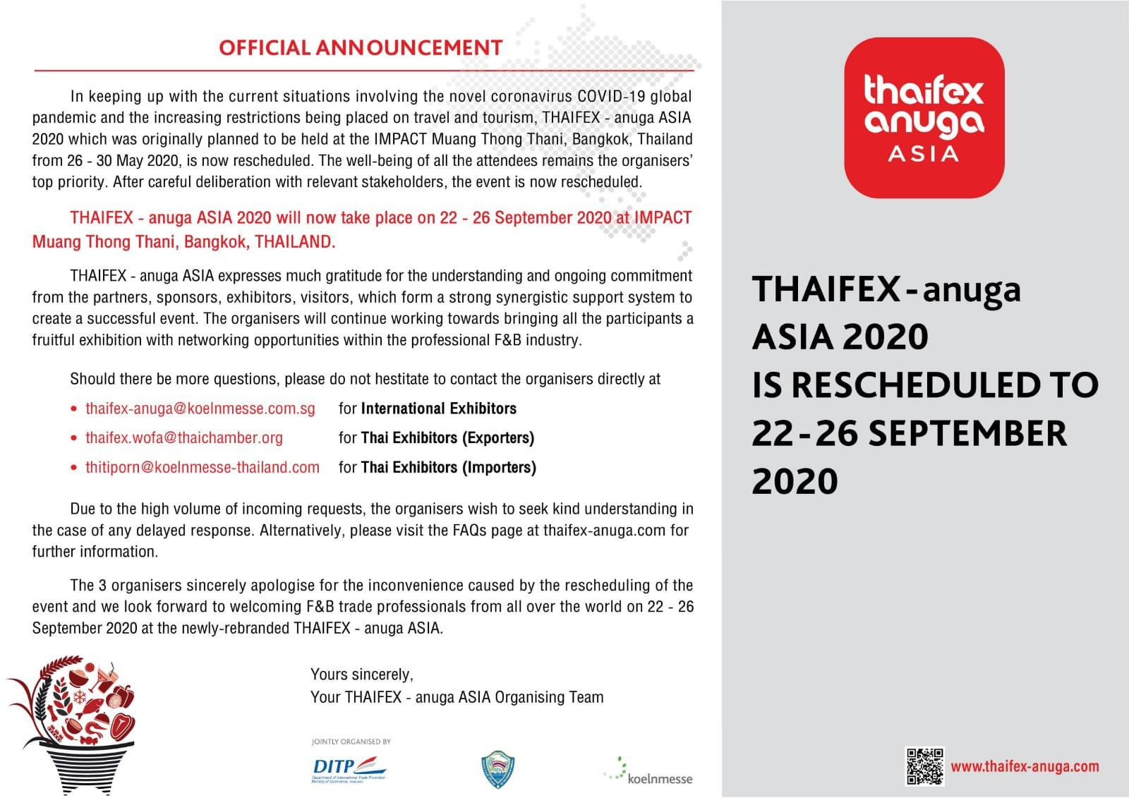 Thaifex2020