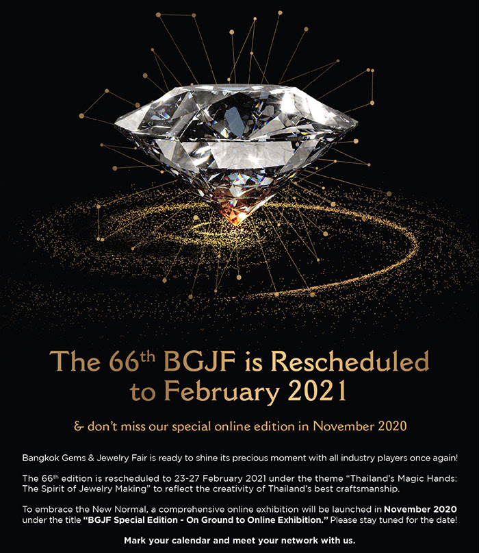 BGJF66 rescheduled