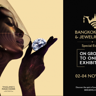 "This NOVEMBER, join us in the Special Edition of BANGKOK GEMS & JEWELRY Fair…""ON GROUND to ONLINE EXHIBITION"""
