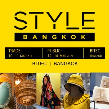 STYLE Bangkok 10-14 MARCH 2021