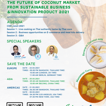 Thai Coconut Global Webinar 24 March 2021