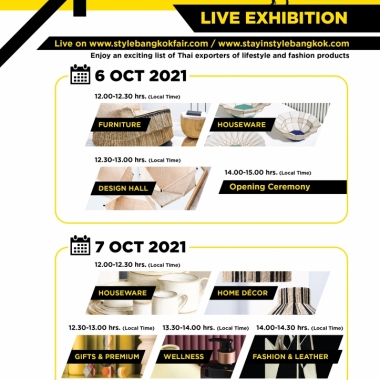 The Marche' by STYLE Bangkok 6-10 October 2021…